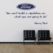 Wall Chimp Henry Ford Motivational Wall Sticker Quote
