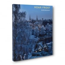 Hoar Frost - Shrewsbury Canvas Print