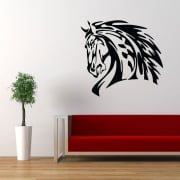 Horse Head Wall Sticker
