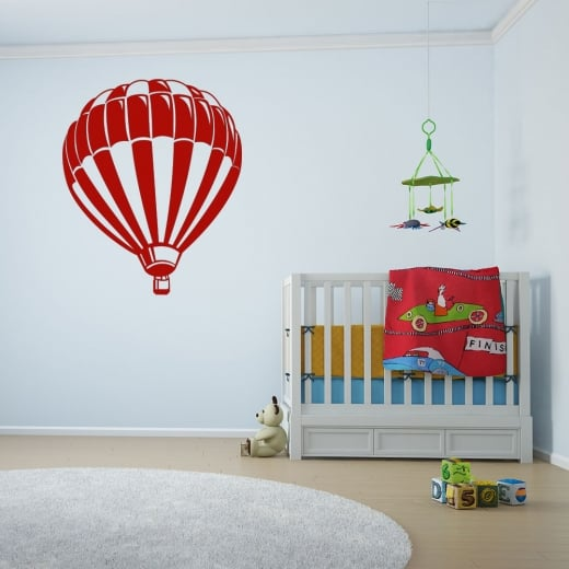 Wall Chimp Hot Air Balloon Wall Sticker