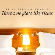 Humble Home Wall Sticker Quote