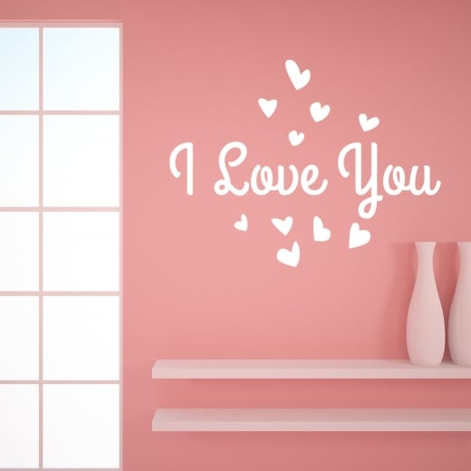 Wall Chimp I Love You Wall Sticker
