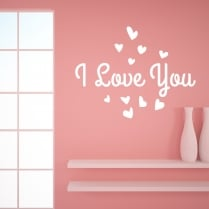 I Love You Wall Sticker