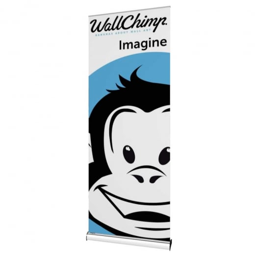 Wall Chimp Imagine Banner Stand