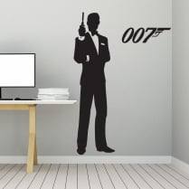 James Bond 007 Wall Sticker