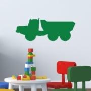 JCB Dumper Truck Wall Sticker