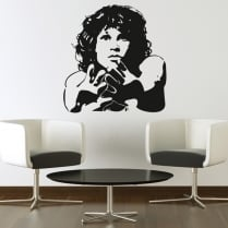 Jim Morrison Wall Sticker