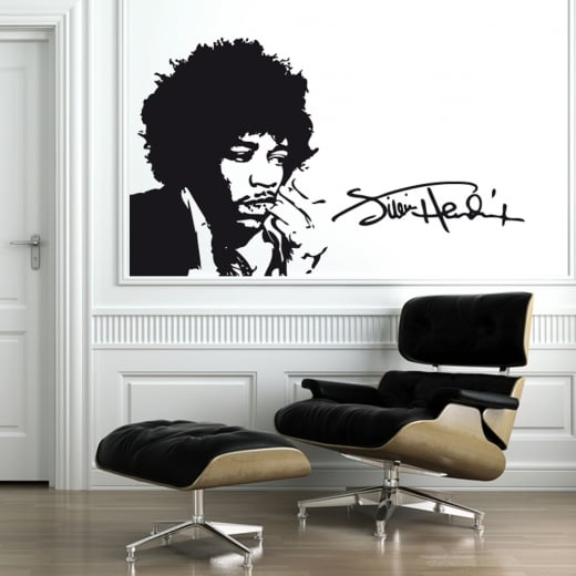 Wall Chimp Jimi Hendrix Wall Sticker