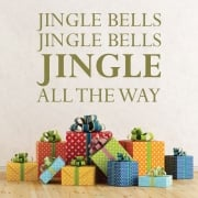 Jingle Bells, Jingle Bells Wall Sticker