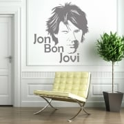 Jon Bon Jovi Wall Sticker