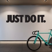 Just Do It Motivational Wall Sticker