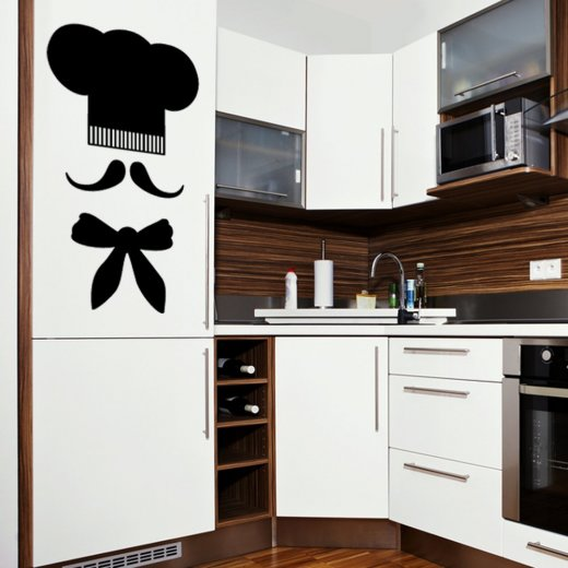 Wall Chimp Kitchen Chef Wall Sticker