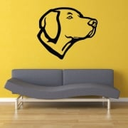 Labrador Silhouette Wall Sticker