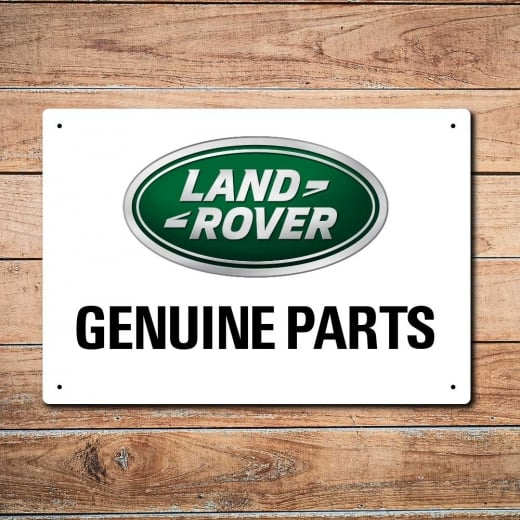 Wall Chimp Land Rover Genuine Parts Metal Sign