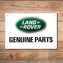 Land Rover Genuine Parts Metal Sign