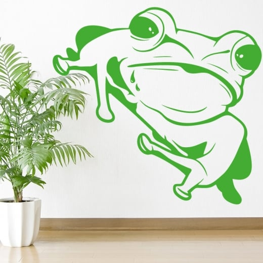 Wall Chimp Large Frog Wall Sticker