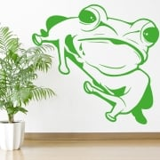 Large Frog Wall Sticker