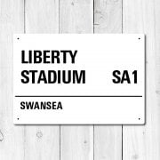 Liberty Stadium, Swansea Metal Sign