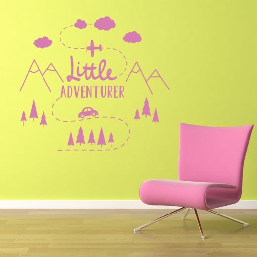 Wall Chimp Little Adventurer Wall Sticker
