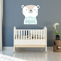 Little Dude Printed Wall Sticker