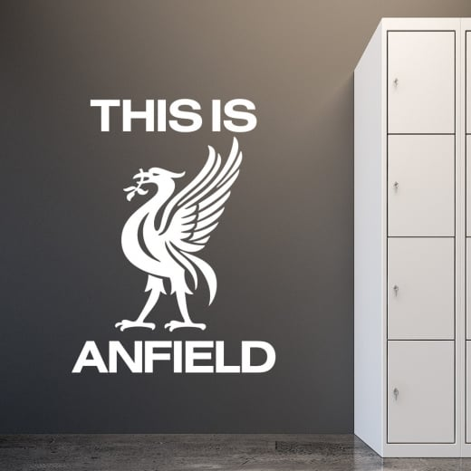 Wall Chimp Liverpool Football This Is Anfield Wall Sticker