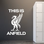 Liverpool Football This Is Anfield Wall Sticker