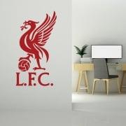 Liverpool Football Wall Sticker Badge