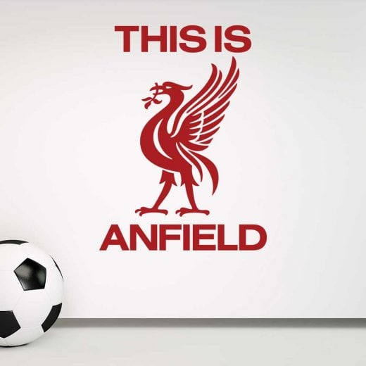 Wall Chimp Liverpool This Is Anfield Wall Sticker