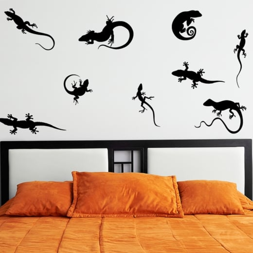 Wall Chimp Lizard Wall Sticker Pack