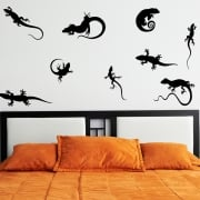Lizard Wall Sticker Pack