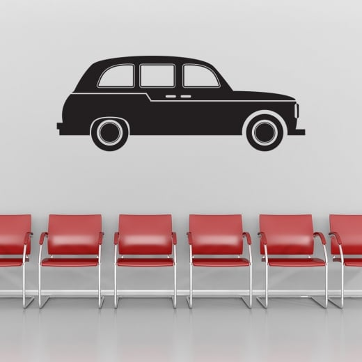 Wall Chimp London Black Cab Taxi Wall Sticker