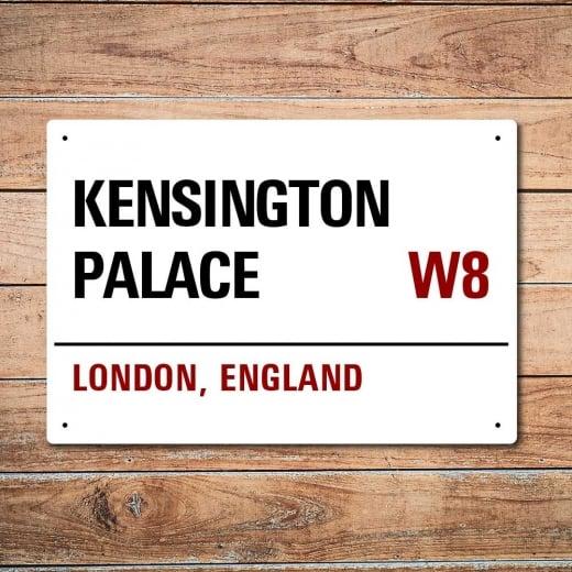 Wall Chimp London Metal Street Sign - Kensington Palace