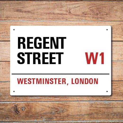 Wall Chimp London Metal Street Sign - Regent Street