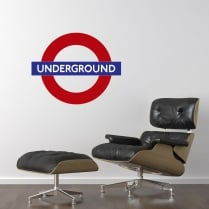 London Underground Printed Wall Sticker