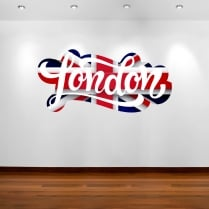 London Union Jack Wall Sticker
