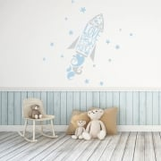Love You To The Moon And Back Printed Wall Sticker