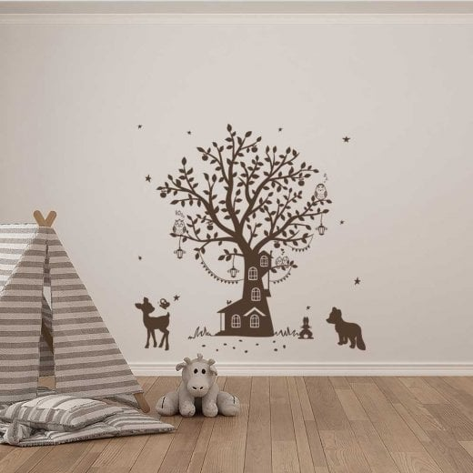 Wall Chimp Magical Woodland Wall Sticker