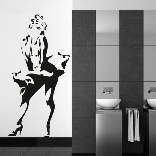 Wall Chimp Marilyn Monroe Standing Wall Sticker