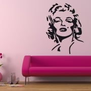 Marilyn Monroe Wall Sticker
