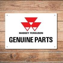 Massey Ferguson Genuine Parts Metal Sign