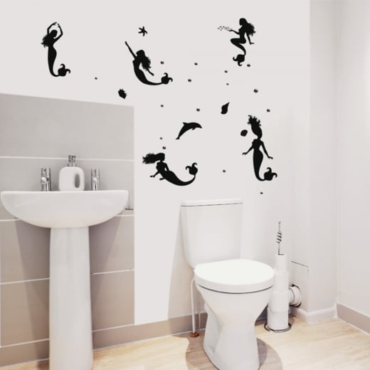 Wall Chimp Mermaid Wall Sticker Pack