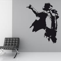 Michael Jackson Dance Wall Sticker