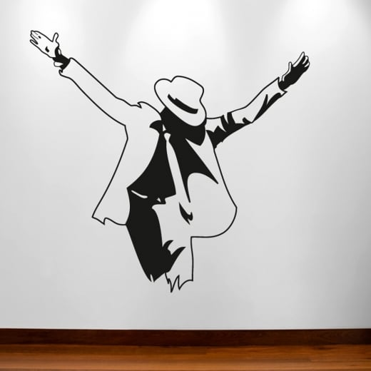 Wall Chimp Michael Jackson Pose Wall Sticker