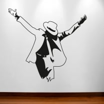 Michael Jackson Pose Wall Sticker