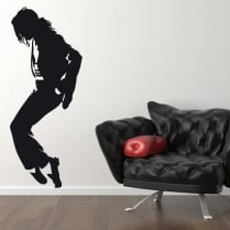 Michael Jackson Standing Wall Sticker