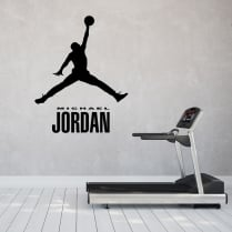 Michael Jordan Silhouette Wall Sticker