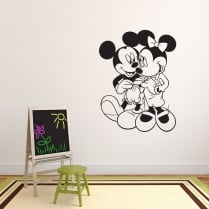 Mickey & Minnie Mouse Wall Sticker