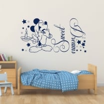 Mickey Mouse Sweet Dreams Wall Sticker