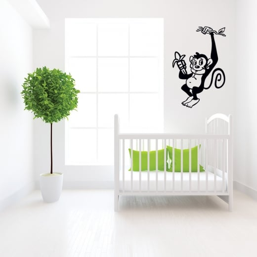 Monkey in a Tree Wall Sticker