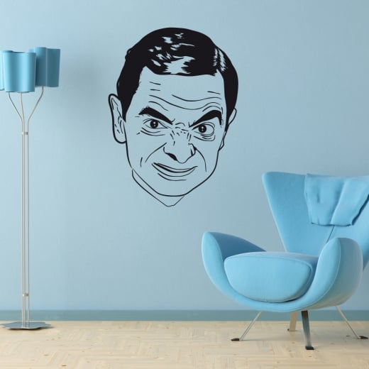 Wall Chimp Mr Bean Wall Sticker